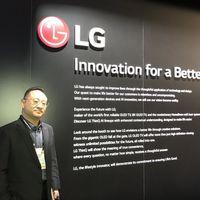 """""""ThinQ no es lo mismo, no es un competidor para Google o Amazon. ThinQ es sobre el producto"""": Ken Hong de LG"""