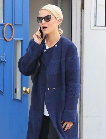 Las Corleone más fashionistas lucen sus largos abrigos