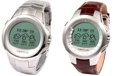 Abacus Smart Watch 2006, el reloj compatible con MSN Direct