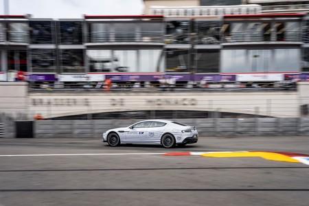 Aston Martin Rapide E, el primer eléctrico de la marca se lució en Mónaco