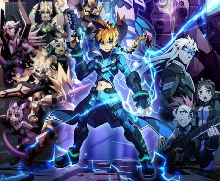 ¿Queréis otra alternativa a Mega Man? Keiji Inafune nos presenta Azure Striker Gunvolt