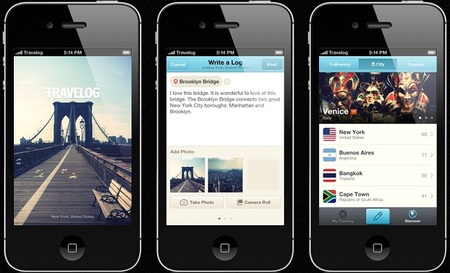 Aplicaciones viajeras para el iPhone: Travelog