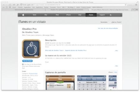 iStudiez Pro, gratis en la App Store