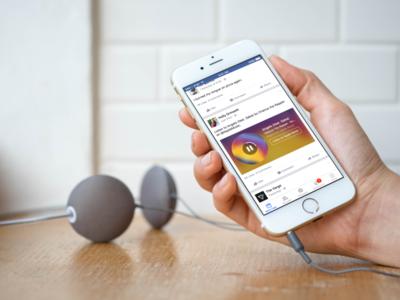 Facebook quiere que compartas más tu música en su red con Music Stories