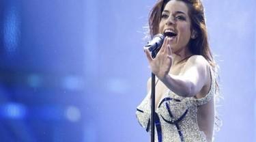 Este año ganamos seguro en Eurovisión... pero el premio al vestido más feo