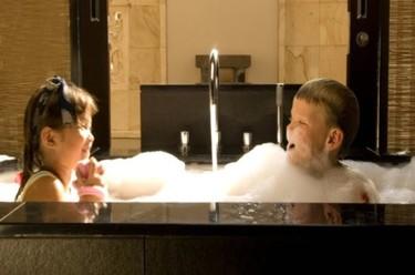 Spa con niños: plan para San Valentín
