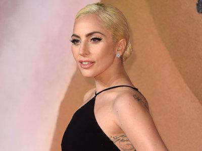 Lady Gaga y su look más sencillo en los British Fashion Awards 2016
