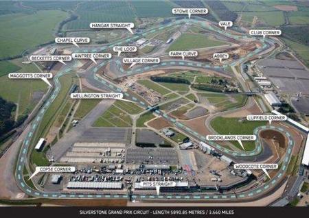 Una vuelta onboard al nuevo circuito de Silverstone