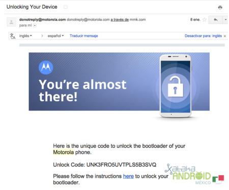 Liberar el bootloader de los Motorola