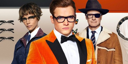 Colin Firth Taron Egerton And Halle Berry In Kingsman 2