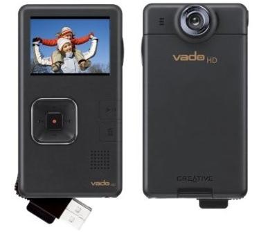Creative Vado HD, vídeo a 720p