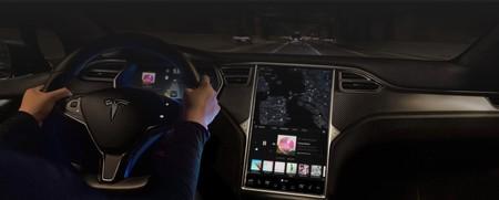 Panel de mandos de Tesla