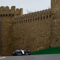 Victoria de Lewis Hamilton en el GP de Azerbaiyán de Fórmula 1 tras un final de carrera de locura