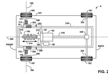 Patente V8 Hibrido Ford