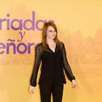El look de Emma Stone en Madrid de negro riguroso