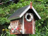 Vrubel, casas de pájaros con encanto