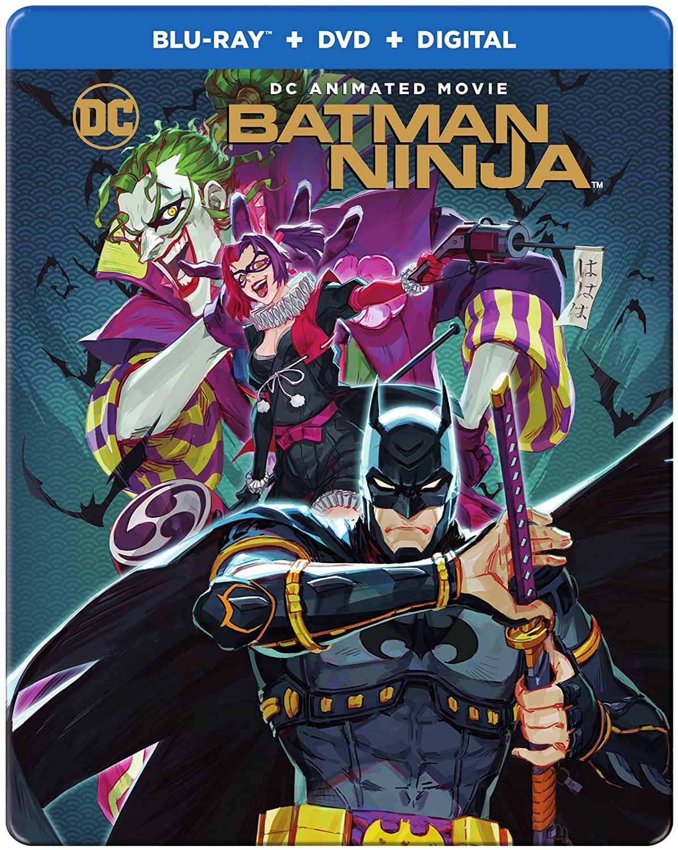 Batman Ninja (steelbook) [Blu-ray]