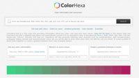ColorHexa, todo lo que necesitas para trabajar con colores