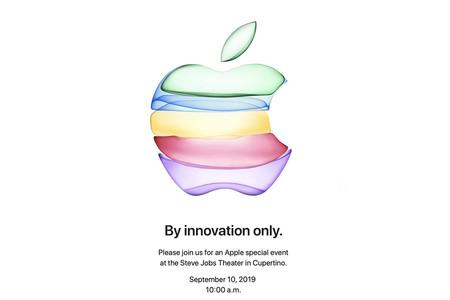 Apple confirma el 10 de septiembre como fecha para su Keynote: todo apunta a iPhone 11 y nuevos Apple Watch