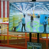 Amazon recurre a la inteligencia artificial para salvaguardar el 'distanciamiento social' en sus instalaciones