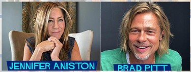 'Leyendas de Pasión': Brad Pitt, con pelazo a lo príncipe encantador de Shrek, se reencuentra con Jennifer Aniston por FaceTime con los gigas de punta