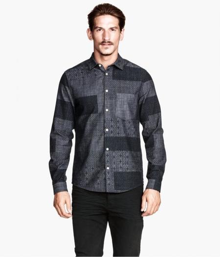 Estampados camisas hombre invierno 2014