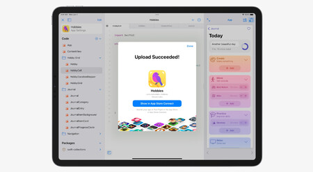 Swift Playgrounds ahora te deja programar apps para iOS y iPadOS directamente desde tu iPad