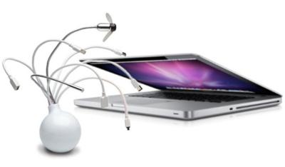 Las conexiones del Mac: USB y Firewire