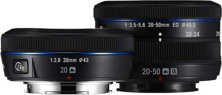 samsung nx100 lens