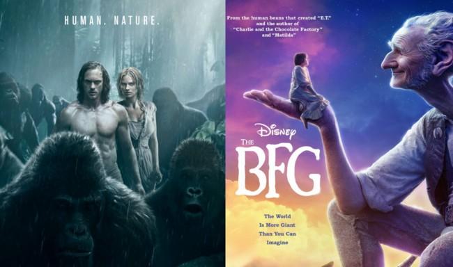 Tarzan y The BFG