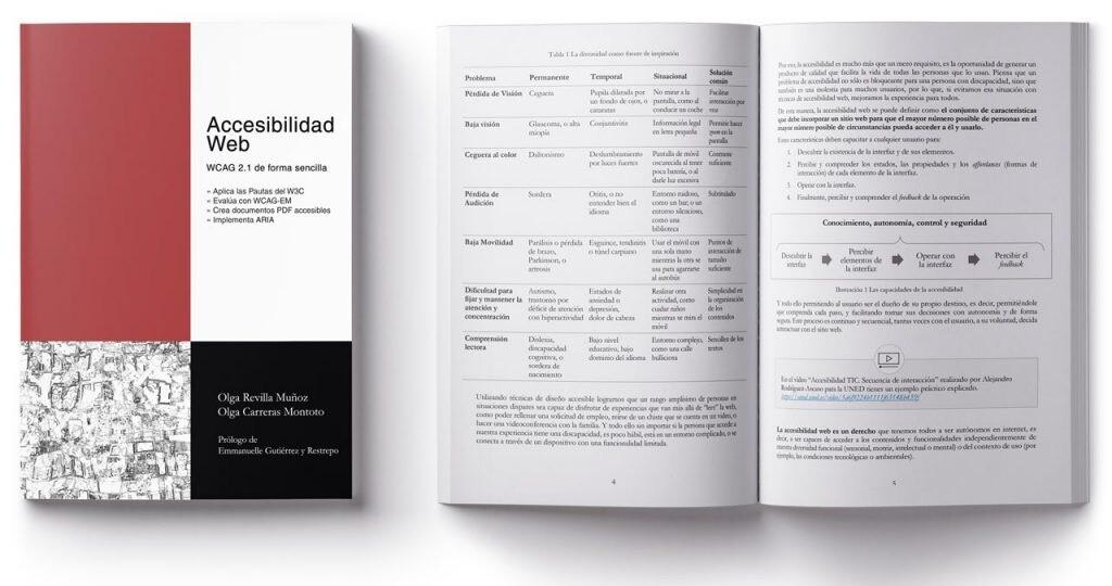 Aprende Accesibilidad Web de manera sencilla descargando este libro gratuito y en español