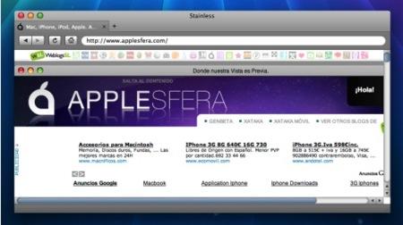 Stainless, el primer navegador multiproceso para Mac OS X