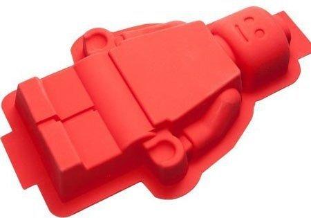Molde de repostería con forma de minifigura Lego