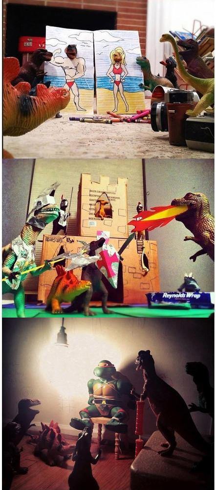 Dinosaurios vivos 4