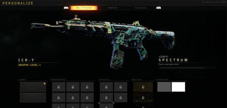 Black Ops 4 Camuflaje Espectro