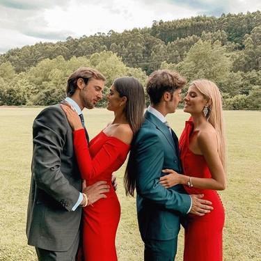El rojo pasión triunfa en los looks de invitada: 13 monos y vestidos para tus bodas de este verano 2019