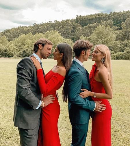 comprar original diseño superior envío directo El rojo pasión triunfa en los looks de invitada: 13 monos y ...