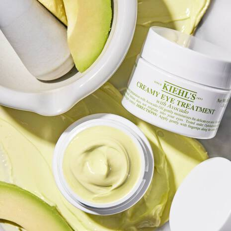 Creamy Eye Treatment with Avocado Todo tipo de pieles incluidas pieles sensibles