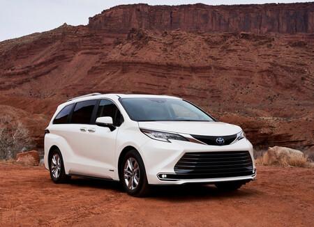 Toyota Sienna 2021 Minivan Hibrida Precio Mexico