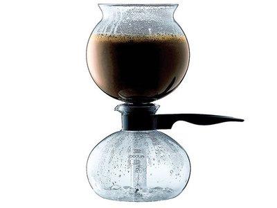 El café más puro: cafetera de alambique de un litro Bodum Pebo por 37,55 euros con envío gratis en Amazon