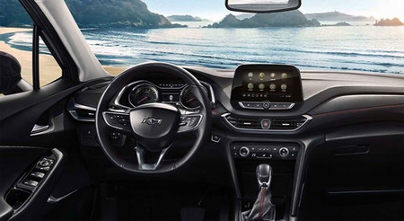 161 Filtrado As 237 Ser 225 El Interior Del Chevrolet Trax 2020
