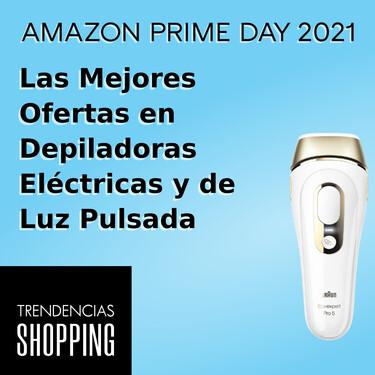 Las mejores ofertas del Amazon Prime Day 2021 en depiladoras eléctricas y de luz pulsada que no puedes dejar escapar