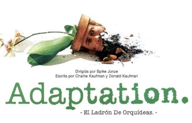 Cartel de Adaptation. El ladrón de orquídeas
