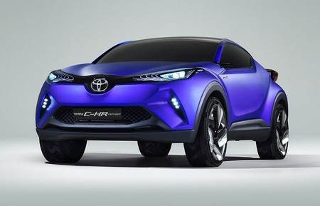 Toyota C-HR Concept: primeras imágenes oficiales