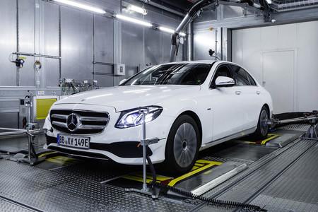 Mercedes banco de prueba diseño