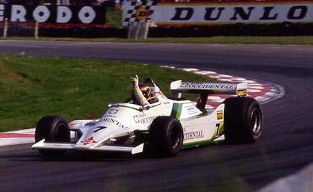Emilio de Villota Fórmula 1 británica 1980