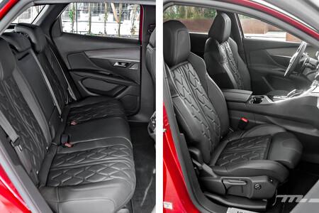 Peugeot 3008 2021 Prueba asientos