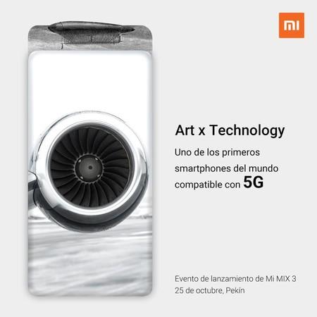 Xiaomi Mi Mix 3 Conectividad 5g