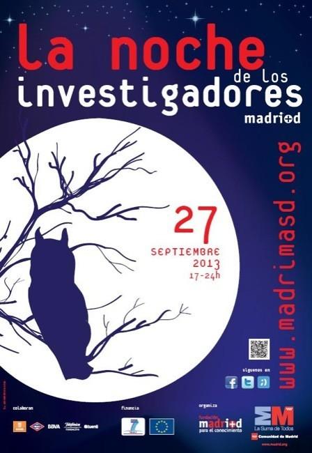 La noche de los investigadores se celebra el próximo viernes 27 de septiembre