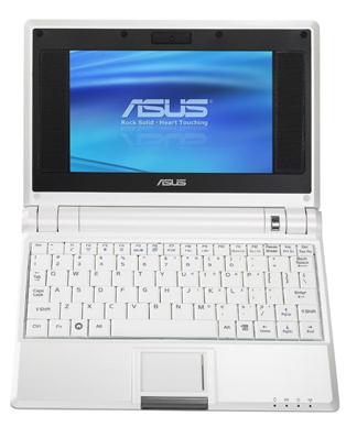 Asus Eee de 8.9 pulgadas con pantalla táctil